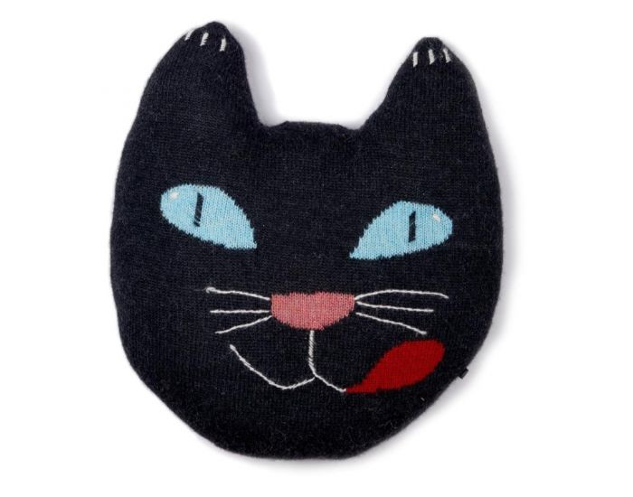 OEUF NYC Coussin chat en alpaga (3)