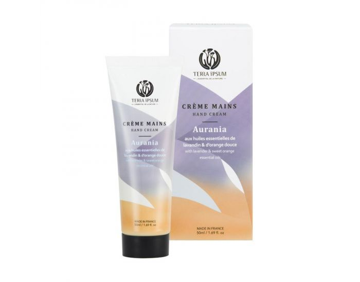 TERRA IPSUM Crème Mains Protectrice Lavandin-Orange (1)