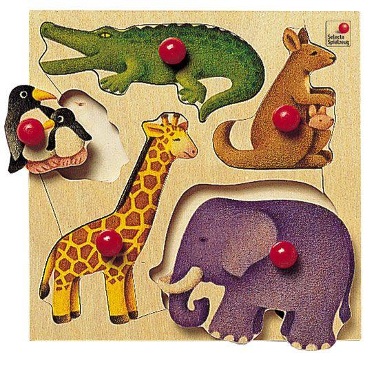puzzle bois zoo ds 18 mois. Black Bedroom Furniture Sets. Home Design Ideas