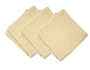 POPOLINI 4 Lots de 3 Langes absorbants en Coton Biologique 70 x 70 cm