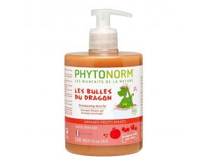 PHYTONORM Shampooing-Douche Grenade-Fruits Rouges Bio - 500ml