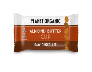 PLANET ORGANIC Cup Beurre dAmandes Bio - 25g