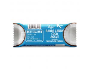 CANDY VILLE Barre Candy Coco Agave Bio - 50g