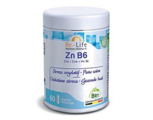 BE-LIFE Zn B6 - 60 gélules