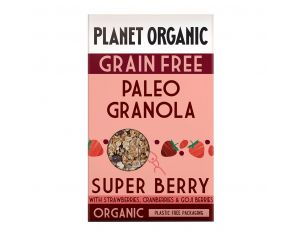 PLANET ORGANIC Paleogranola Super Berry Bio - 350g