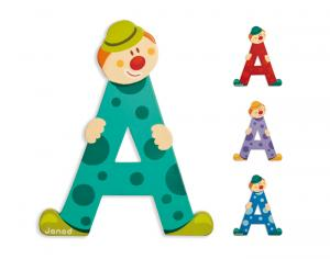 JANOD Lettres Alphabet Clown