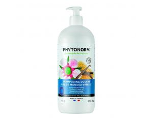 PHYTONORM Shampooing-Douche Manuka-Vanille Bio - 1L