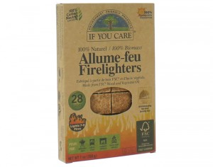 IF YOU CARE Allume-Feu 100% Naturel - 28 Cubes