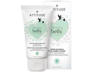 ATTITUDE Blooming Belly Crème Naturelle Jambes Lourdes Menthe - 150 ml