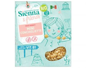SIENNA AND FRIENDS Mini Conchiligliette - 300 g - Dès 12 mois