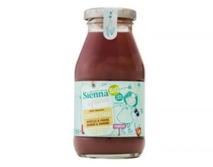 SIENNA AND FRIENDS Smoothie Myrtille Fraise et Vanille - 200 ml - Dès 2 ans