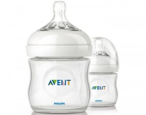 AVENT Lot de 2 Biberons Natural Bottle - 125 ml