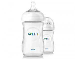 AVENT Lot de 2 Biberons Natural Bottle - 260 ml