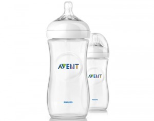 AVENT Lot de 2 Biberons Natural Bottle - 330 ml