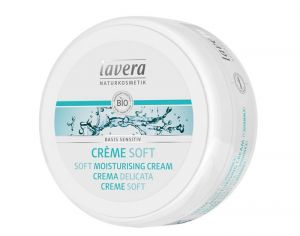 LAVERA Cr�me Soft Basis Sensitiv - Visage et Corps  - 150 ml