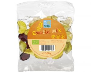 PURAL Bonbons Bio Exotic Mix - 100 g