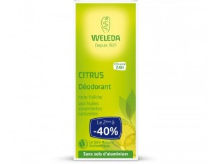 WELEDA Duo Déodorant Citrus OFFRE SPECIALE - 2x100ml