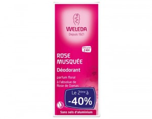 WELEDA Duo Déodorant Rose OFFRE SPECIALE - 2x100ml