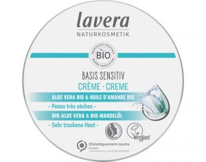 LAVERA Basis Sensitiv - Cr�me Multi-Usages - Beurre de Karit� et Amande Bio - 150 ml
