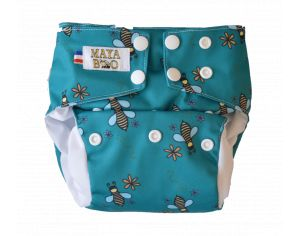MAYA BOO Couche Lavable Évolutive - Save The Bee