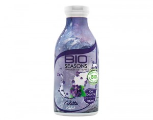 BIO SEASONS Gel Douche - Violette - 300 ml