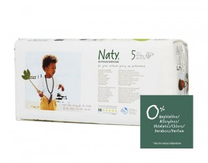 NATY Pack économique - Couches Jetables Eco 5 Junior+ 11-25 Kg- Paquet de 42