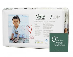 NATY Pack �conomique - Couches Jetables Eco