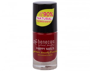 BENECOS Vernis à Ongles - Cherry Red - 5ml