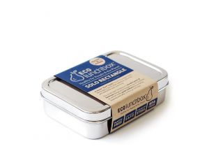 ECOLUNCHBOX Solo Rectangle - Lunch box Inox - 820 ml