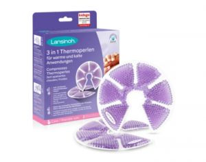 LANSINOH Coussinet Apaisant Chaud ou Froid Therapearl - 1 paire