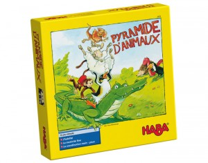 HABA Pyramide d'Animaux - Dès 4 ans