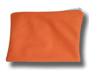 LULU NATURE Petite Trousse de Transport Orange