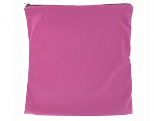 LULU NATURE Sac à Couches Sales - 35x35cm Framboise
