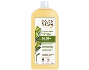 DOUCE NATURE Shampoing Douche Provence Huile d'Olive - 1L