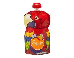 SQUIZ Gourde réutilisable Amazonie Perroquet - 130 ml