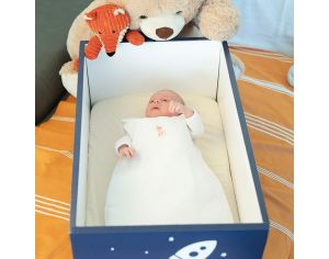 FRENCH POUPON Le Berceau Baby Box - Douce Nuit