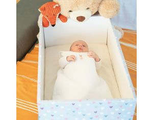 FRENCH POUPON Le Berceau Baby Box - Amour