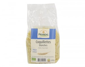 PRIMEAL Coquillettes Pâtes Blanches 500g