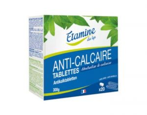 ETAMINE DU LYS Tablettes Anti-Calcaire - 20 Tablettes - 300 g