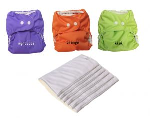 P'TITS DESSOUS Minipack De Couches Lavables - So Easy