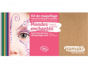 NAMAKI Kit de Maquillage 8 Couleurs - Mondes Enchantés