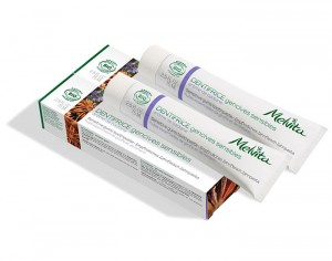 MELVITA Duo Dentifrice Gencives Sensibles à la Badiane - 2x75 ml