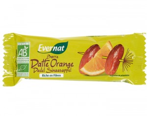 EVERNAT Barre Datte Orange - 40 g