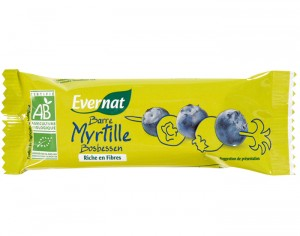EVERNAT Barre Myrtille - 40 g