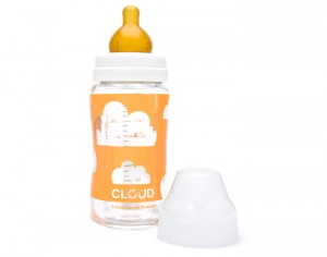 CLOUD Biberon en Verre Louise - 240ml