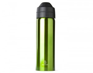 ECOCOCOON Gourde Inox Isotherme Familiale Anti-Fuites - Green - 600ml