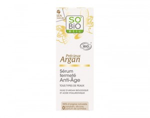 SO'BIO Sérum Fermeté Anti-âge à l'Argan Bio - 30 ml