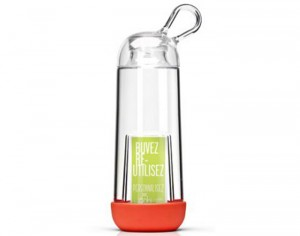 GOBI Gourde Personnalisable Made in France en Tritan - Corail - 40 cl