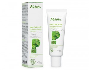 MELVITA Fluide Equilibrant Matifiant Nectar Pur - 40 ml