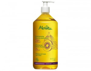 MELVITA Shampooing Douche Extra Doux - 1L